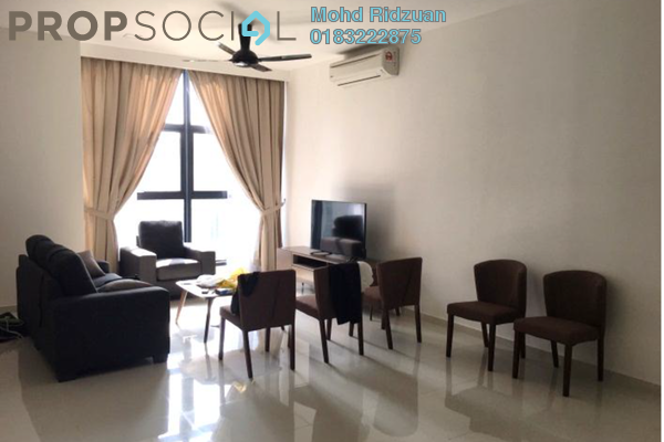 For Rent Condominium at Mirage Residence, KLCC Freehold Fully Furnished 2R/2B 5.5k