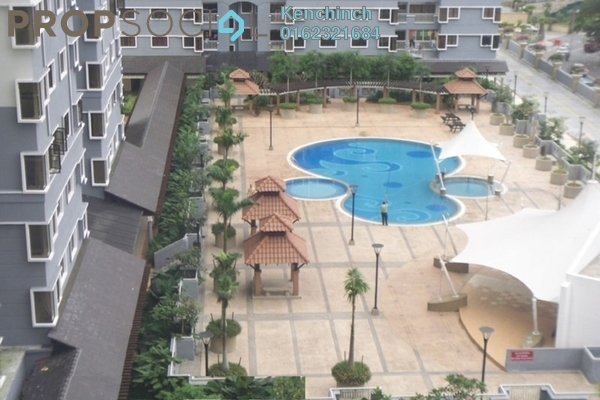 For Rent Condominium at Pelangi Utama, Bandar Utama Freehold Semi Furnished 3R/2B 1.7k