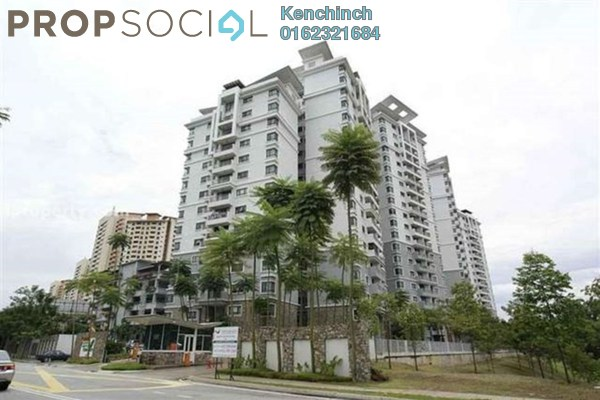 For Rent Condominium at Opal Damansara, Sunway Damansara Freehold Semi Furnished 4R/2B 2.1k