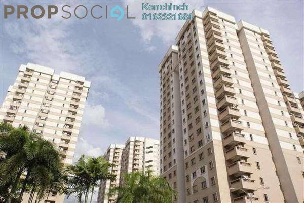 For Rent Condominium at Pelangi Damansara, Bandar Utama Freehold Semi Furnished 3R/2B 1.3k
