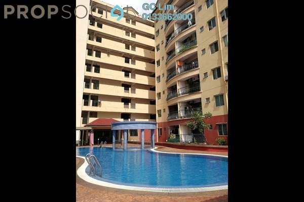 For Sale Apartment at Mandy Villa, Segambut Leasehold Unfurnished 3R/2B 348k