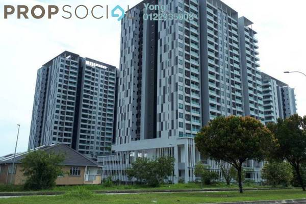 For Rent Condominium at Paragon 3, Bandar Putra Permai Freehold Semi Furnished 3R/3B 1.55k