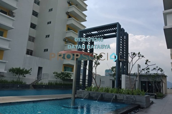 For Sale Condominium at Bayu Sentul, Sentul Freehold Semi Furnished 3R/3B 850k