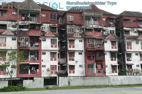 For Sale Apartment at Taman Kosas, Ampang Leasehold Unfurnished 3R/2B 249k