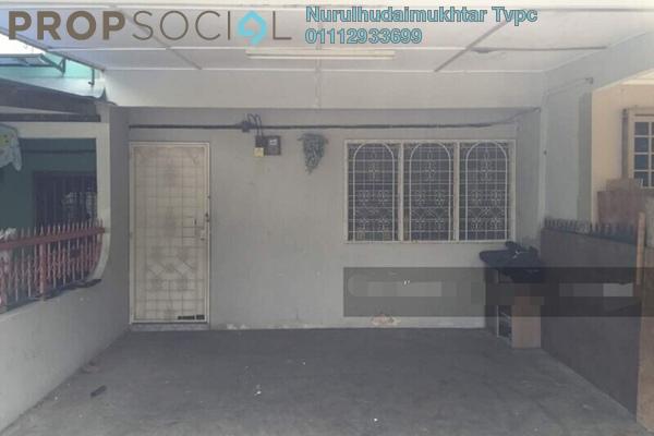 For Sale Terrace at Taman Sri Watan, Ampang Leasehold Unfurnished 2R/1B 350k