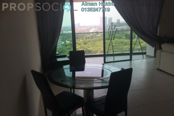 For Rent Condominium at Cristal Residence, Cyberjaya Freehold Fully Furnished 4R/2B 2.2k