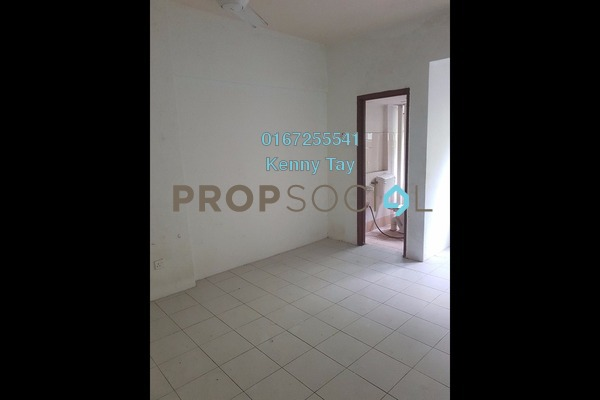 For Sale Apartment at Ixora Apartment, Kepong Freehold Semi Furnished 3R/2B 199k