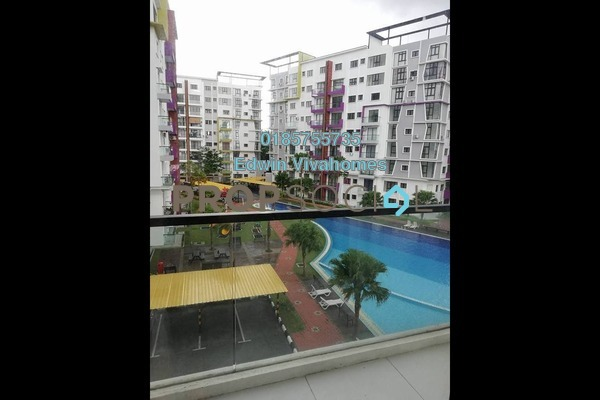 For Rent Condominium at Panorama Lapangan Perdana, Ipoh Freehold Semi Furnished 3R/2B 1.4k