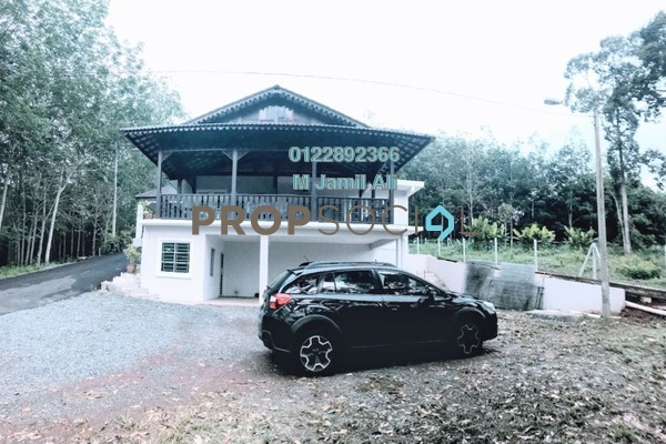 For Sale Bungalow at Pekan Jabi, Segamat Freehold Semi Furnished 5R/5B 700k