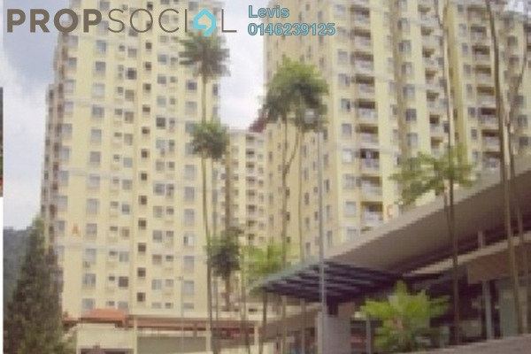For Sale Condominium at Platinum Hill PV3, Setapak Freehold Semi Furnished 4R/2B 438k