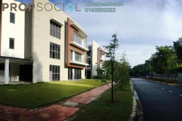 For Rent Townhouse at The Vale @ Sutera Damansara, Damansara Damai Freehold Semi Furnished 4R/4B 1.9k