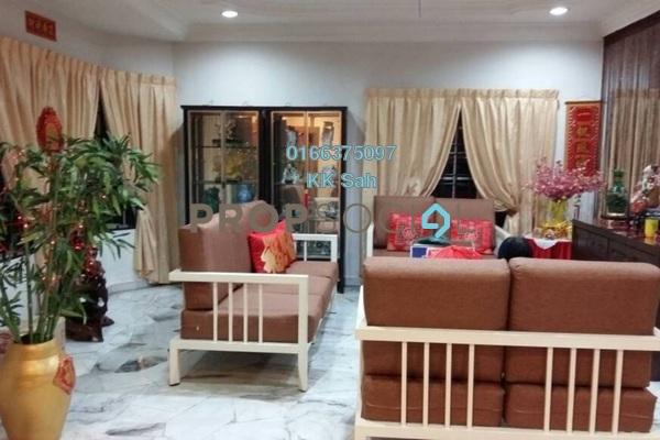 For Sale Link at Taman Sentosa, Klang Freehold Semi Furnished 5R/3B 712k