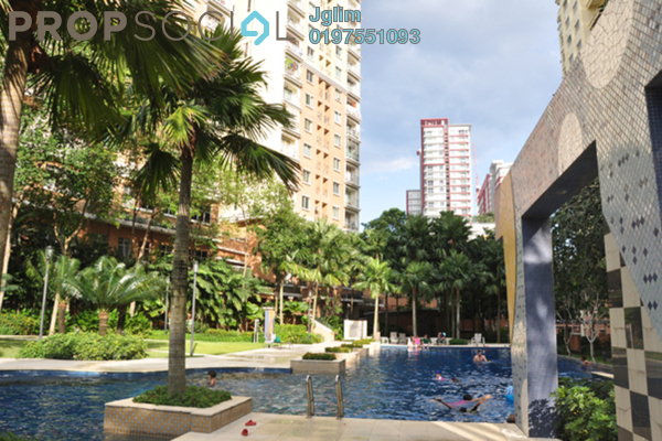 For Rent Condominium at Perdana Emerald, Damansara Perdana Leasehold Fully Furnished 3R/2B 2.35k