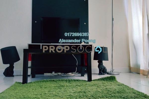 For Rent SoHo/Studio at Ritze Perdana 1, Damansara Perdana Freehold Fully Furnished 1R/1B 1.3k