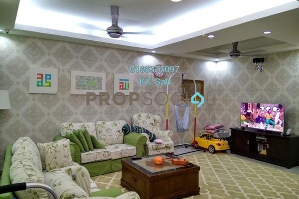 For Sale Link at Cheras Vista, Bandar Mahkota Cheras Freehold Semi Furnished 4R/3B 658k