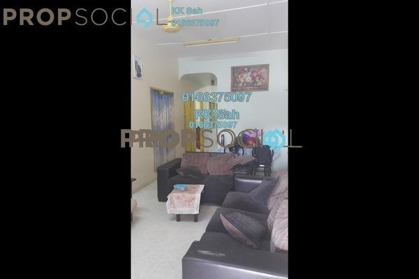 For Sale Terrace at Taman Klang Utama, Klang Freehold Semi Furnished 4R/2B 388k