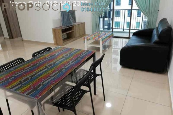 For Rent Condominium at Ideal Vision Park, Sungai Ara Freehold Fully Furnished 3R/2B 1.7k