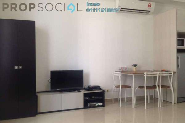 For Rent SoHo/Studio at i-City, Shah Alam Freehold Fully Furnished 0R/1B 1.3k