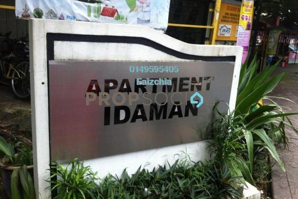 For Sale Apartment at Idaman Apartment, Damansara Damai Leasehold Semi Furnished 3R/2B 95k