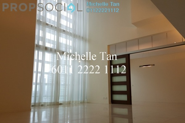For Sale Duplex at Dua Residency, KLCC Freehold Semi Furnished 4R/5B 3.3m