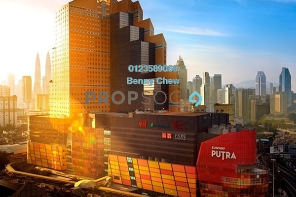 For Rent Office at Sunway Putra, Kuala Lumpur Freehold Semi Furnished 0R/0B 12k