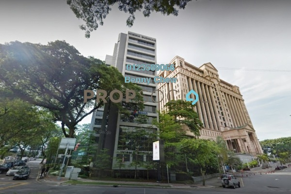 For Rent Office at Wisma Budiman, Bukit Ceylon Freehold Semi Furnished 0R/0B 12k