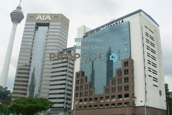 For Rent Office at Wisma Char Yong, KLCC Freehold Semi Furnished 0R/0B 21k