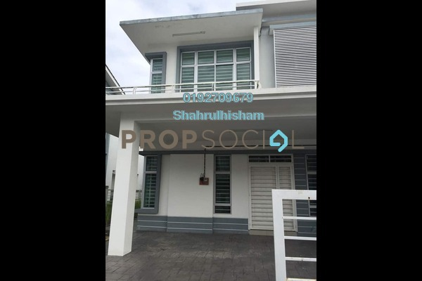 For Rent Semi-Detached at Royal Ivory, Bandar Saujana Putra Freehold Unfurnished 4R/3B 1.2k