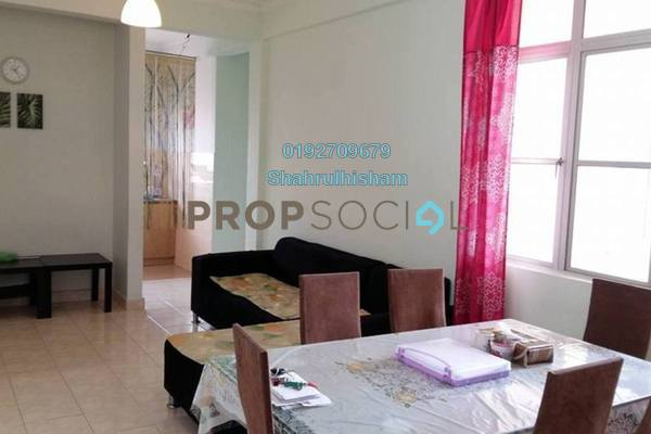 For Sale Apartment at Sri Ara Apartment, Ara Damansara Freehold Semi Furnished 3R/2B 270k