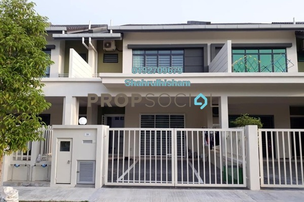 For Sale Terrace at Warisan Puteri, Sepang Freehold Semi Furnished 4R/4B 820k