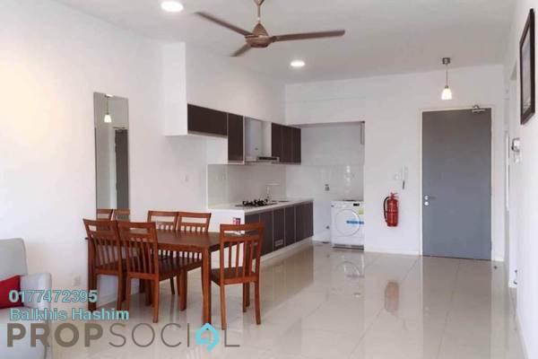 For Rent Condominium at Renai Jelutong Residences, Bukit Jelutong Freehold Semi Furnished 2R/2B 2.1k