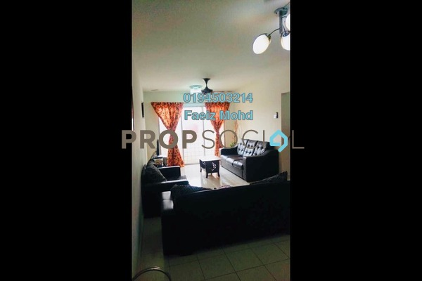 For Sale Apartment at Section 22, Shah Alam Freehold Fully Furnished 3R/2B 325k