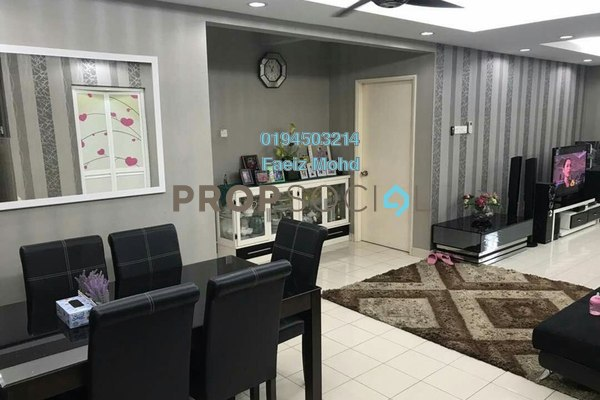 For Sale Condominium at Magna Ville, Selayang Freehold Fully Furnished 3R/2B 395k