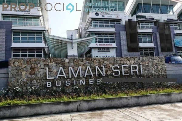 For Sale Office at Laman Seri, Shah Alam Leasehold Unfurnished 0R/2B 473k