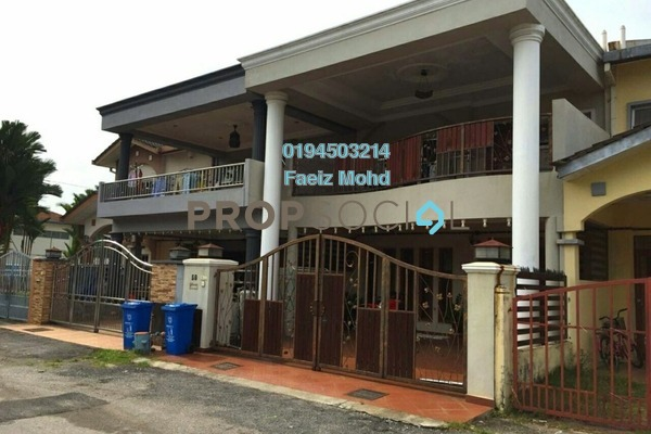For Sale Terrace at Taman Mutiara Subang, Subang Freehold Semi Furnished 4R/3B 680k