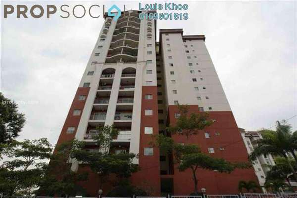 For Sale Condominium at Ketumbar Hill, Cheras Freehold Semi Furnished 4R/2B 500k
