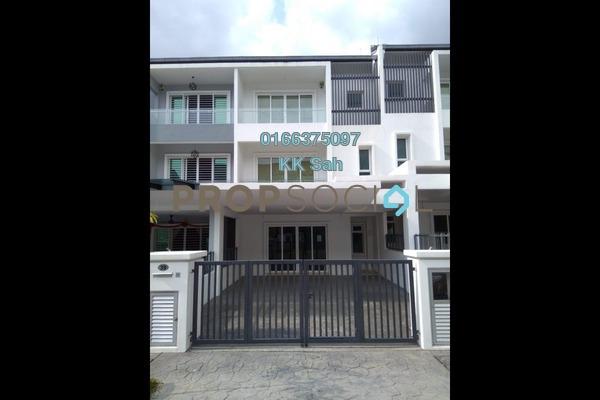 For Sale Superlink at Taman Taming Indah 2, Bandar Sungai Long Freehold Semi Furnished 6R/5B 1.17m