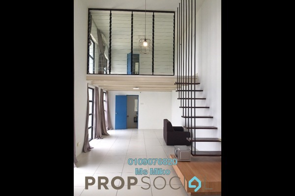 For Rent Duplex at Empire City, Damansara Perdana Freehold Semi Furnished 1R/2B 1.4k
