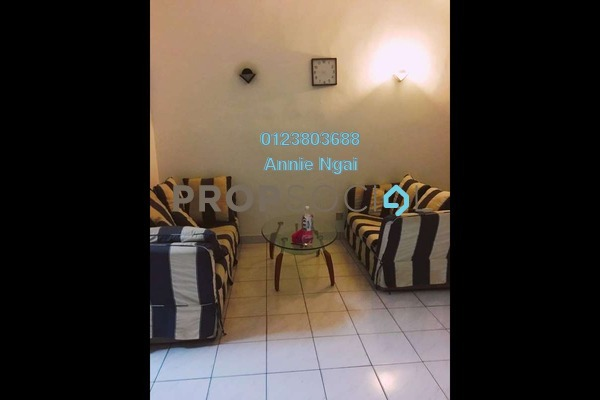 For Rent Link at BK2, Bandar Kinrara Freehold Semi Furnished 3R/2B 1.25k
