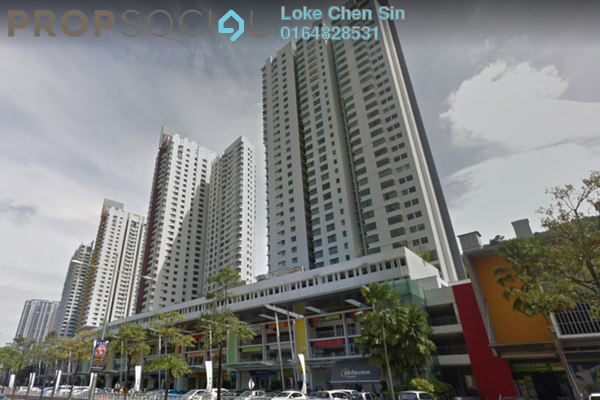 For Sale Condominium at All Seasons Park, Farlim Freehold Semi Furnished 3R/2B 505k