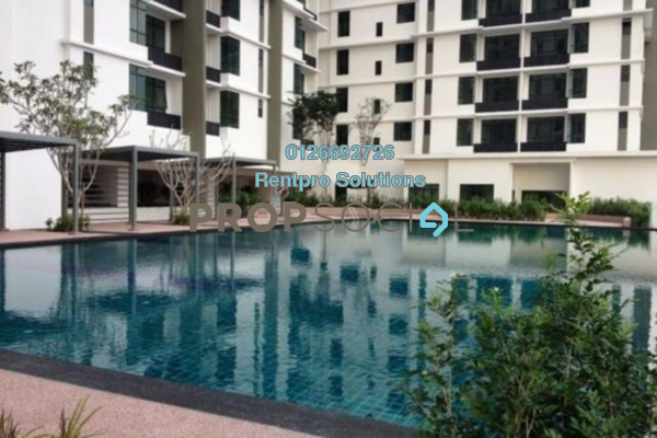 For Rent Apartment at Amaya Maluri, Cheras Freehold Fully Furnished 1R/2B 1.9k
