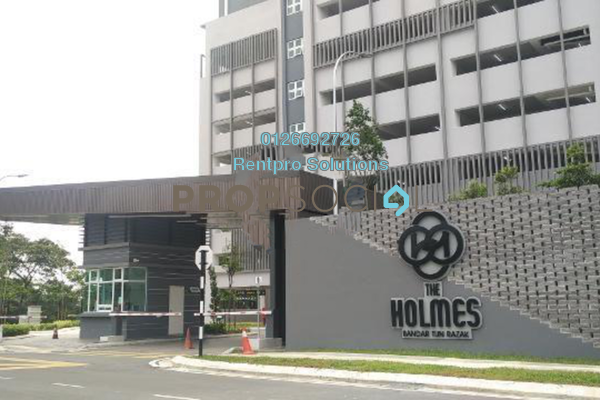 For Rent Apartment at The Holmes, Bandar Tun Razak Freehold Semi Furnished 3R/2B 1.6k