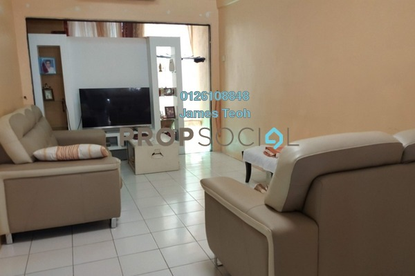 For Sale Apartment at Prima Bayu, Klang Freehold Semi Furnished 3R/2B 299k