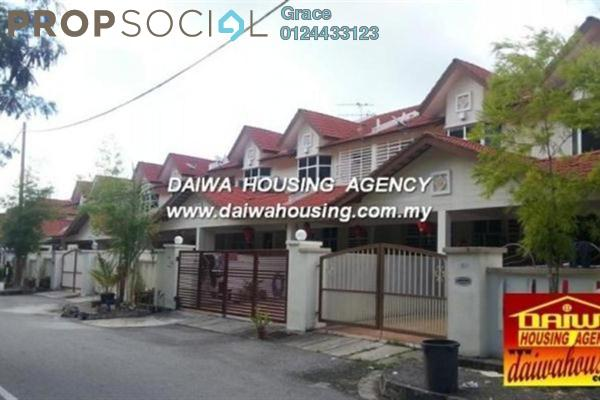 For Sale Terrace at Taman Banang Ria, Batu Pahat Freehold Unfurnished 4R/3B 1.1百万
