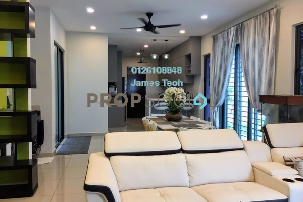 For Sale Semi-Detached at Chimes, Bandar Rimbayu Freehold Semi Furnished 4R/5B 1.35m