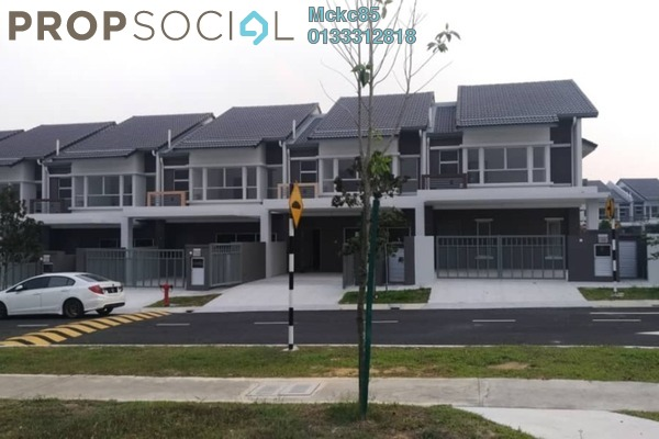 For Sale Terrace at Serene Heights, Bangi Freehold Unfurnished 4R/3B 605k