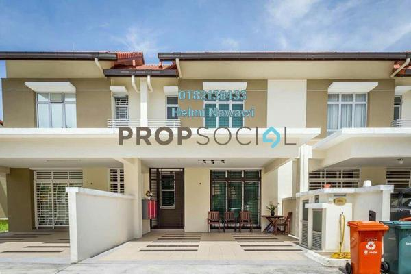 For Sale Superlink at Precinct 14, Putrajaya Freehold Semi Furnished 4R/3B 880k