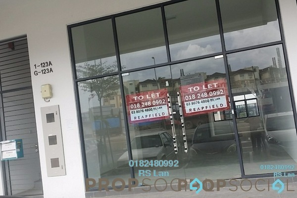 For Rent Shop at KIP Sentral @ Sepang, Sepang Freehold Unfurnished 0R/2B 2.9k