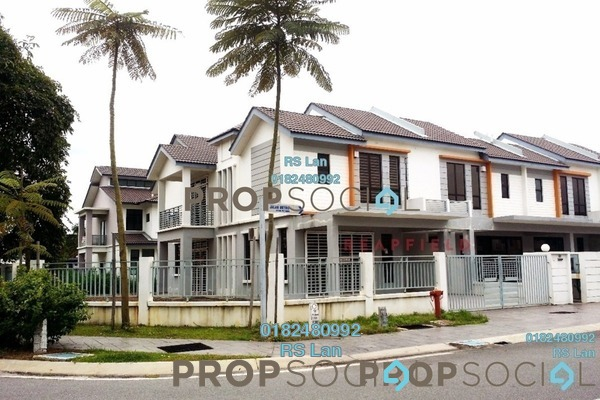 For Sale Superlink at Lakeside Residences, Puchong Freehold Unfurnished 4R/2B 1.5m