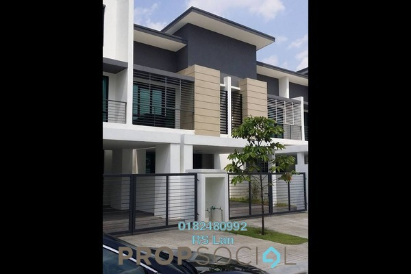 For Sale Terrace at Zircona, Alam Impian Freehold Semi Furnished 4R/3B 820k